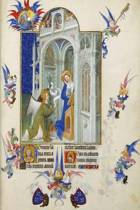 Annunciation by the Limbourg Brothers