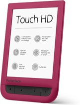 Pocketbook Touch HD Ruby Red Touchscreen 8GB Wi-Fi Rood e-book reader