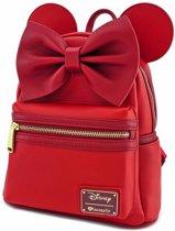 Disney tas - Loungefly collectie - Minnie Rood - Rugzak / Rugtas / Mini Backpack