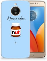 Motorola Moto E4 Plus Uniek TPU Hoesje Nut Home