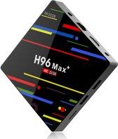 H96 Max+ 4k Android 8.1 Quad Core USB 3.0 Bluetooth 4.0 2.4G 5G TV-Box Kodi 18.1, Netflix, Kodi, Youtube, Miracast, Playstore en nog meer