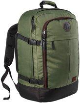 CabinMax Metz – Handbagage - Rugzak 44l– Schooltas - 55x40x20cm – Lichtgewicht - Vintage Khaki (MZ V-KI)