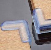 EPIN 3D | 4 Stuks | Siliconen Tafelhoek Stoot Hoekjes | Doorzichtige Tafel Hoekbeschermer | Veiligheid Voor Baby En Kind