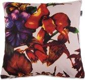 In The Mood Floral Groot - Sierkussen - Kiezel - 50x50 cm