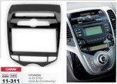 2-DIN HYUNDAI iX-20 2010+ (Auto Air-Conditioning) inbouwpaneel Audiovolt 11-311