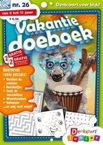 Boek cover DSP VAKANTIE DOEBOEK 0026 van Keesing Nederland B.V.