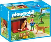 PLAYMOBIL Golden Retrievers met puppy's - 6134