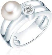 Valero Pearls parel Ring - Sterling zilver - zilver