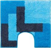 Graduale - WC mat - Aqua - 60 x 60 cm