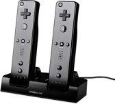 Speedlink JAZZ - USB Oplader - Zwart - Wii U + Wii