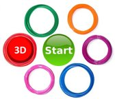 XL navullingen voor Start doodler 3d pennen