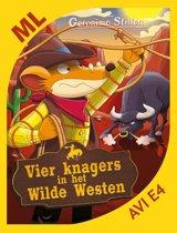 Vier knagers in het Wilde Westen