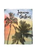 Jamaican Christmas: Jamaica Christmas Notebook With Lined Wide Ruled Paper For Taking Notes. Stylish Tropical Travel Journal Diary 6 x 9 I