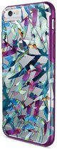 X-Doria cover Revel Floral Plam - paars - voor iPhone 6/6S
