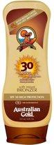 Australian Gold SPF 30 Zonnebrand Lotion met Bronzer - 237 ML