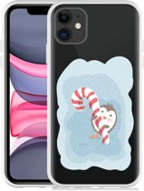 Apple iPhone 11 Hoesje Candy Pinquin