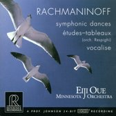 Rachmaninoff: Symphonic Dances; Vocalise; Etudes-tableaux