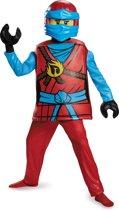 LEGO NINJAGO Nya deluxe kostuum voor kinderen - Verkleedkleding - Maat 122/128