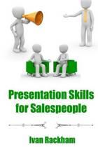 Presentation Skills for Salespeople