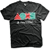 Merchandising PLAYSTATION - T-Shirt Button Icons (S)