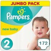 Pampers New Baby Maandbox Maat 2 - 172 Stuks
