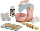 KidKraft Houten speelgoed bakset - pastelkleurig