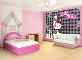 Fotobehang Papier Sanrio, Hello Kitty   Grijs   254x184cm