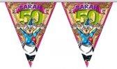 Sarah 50 jaar vlaggenlijn 6 meter