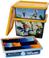 Lego Legends of Chima Opbergbox - Voor speelgoed - Blauw