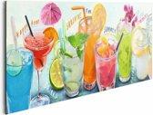 REINDERS Cocktails - Schilderij - 90x30cm