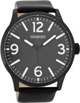 OOZOO Timepieces Zwart Horloge C8574