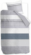 Rivièra Maison Pure Resort - Dekbedovertrek - Eenpersoons - 140x200/220 cm - Grijs