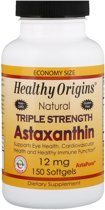 Astaxanthine, 12 mg, 150 Softgels, Healthy Origins