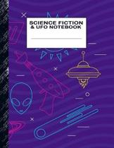 Science Fiction & UFO Notebook: Boys' and Girls Fun Handwriting and Printing Practice Notebook for Grades K-2-3