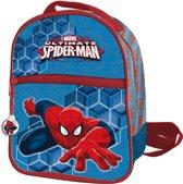 Spiderman - Rugzak  24 cm extra voorvak - Kinderen - Blauw/Rood
