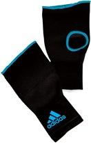Adidas Binnenhandschoen Zwart/blauw Maat L