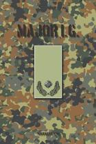 Major i. G.: Vokalbelheft / Heft f�r Vokabeln - 15,24 x 22,86 cm (ca. DIN A5) - 120 Seiten