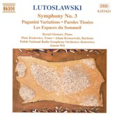 Lutoslawski: Orch.Works Vol.3