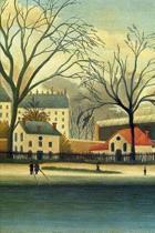 Suburban Scene by Henri Rousseau Journal