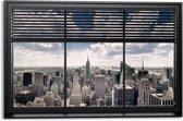 REINDERS New York - Schilderij - 90x60cm