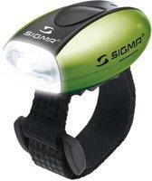 Sigma Micro Led Fiets Koplamp - Batterij - Groen