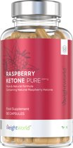 Raspberry Ketone Pure - 400mg 90 Capsules - Fat Burner - Frambozen Superfood Supplement