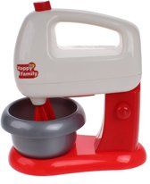 Luna Speelgoed Keukemachine Junior Rood/wit 16 Cm