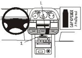 Brodit center mount v. Nissan X-trail 02-03