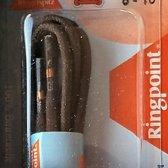 1 paar schoenveters 2.5 mm x 90cm Bruin - Ronde wax Fashion veter Katoen 68