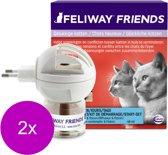 Feliway Friends Startset - Anti stressmiddel - 2 x per stuk