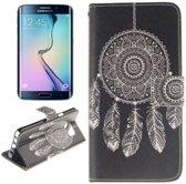 Samsung Galaxy Note 5 Edge - Flip hoes cover case - PU leder - PC - Dreamcatcher