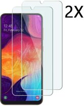 Ntech 2Pack Samsung Galaxy A50 - Screen Protector Tempered glass Beschermglas