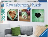 Ravensburger - Puzzel Symbolen van liefde drieluik 3 x 500 stukjes 199.211
