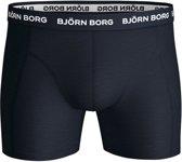 Björn Borg Stripe Sammy boxershorts 3-pack heren blauw/zwart